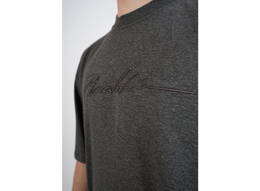 Long Fit Shirt Grey - Signature