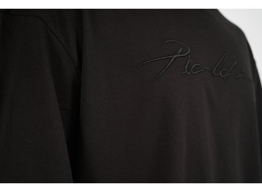 Long Fit Shirt Black - Signature