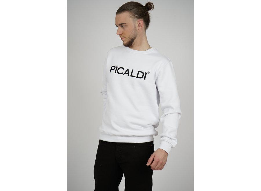 Sweatshirt Charlie - White