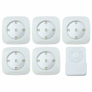 O'DADDY Electronics & Fun Lumi Light 6 pieces set