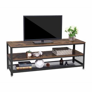 O' DADDY - Home & Living Tv furniture wood with metal | suitable for 60 inch TV | 140x40x52 cm