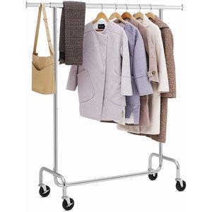 O' DADDY - Home & Living H&L kledingrek op 4 grote wielen | verstelbaar en kan tot 130 kilo aan