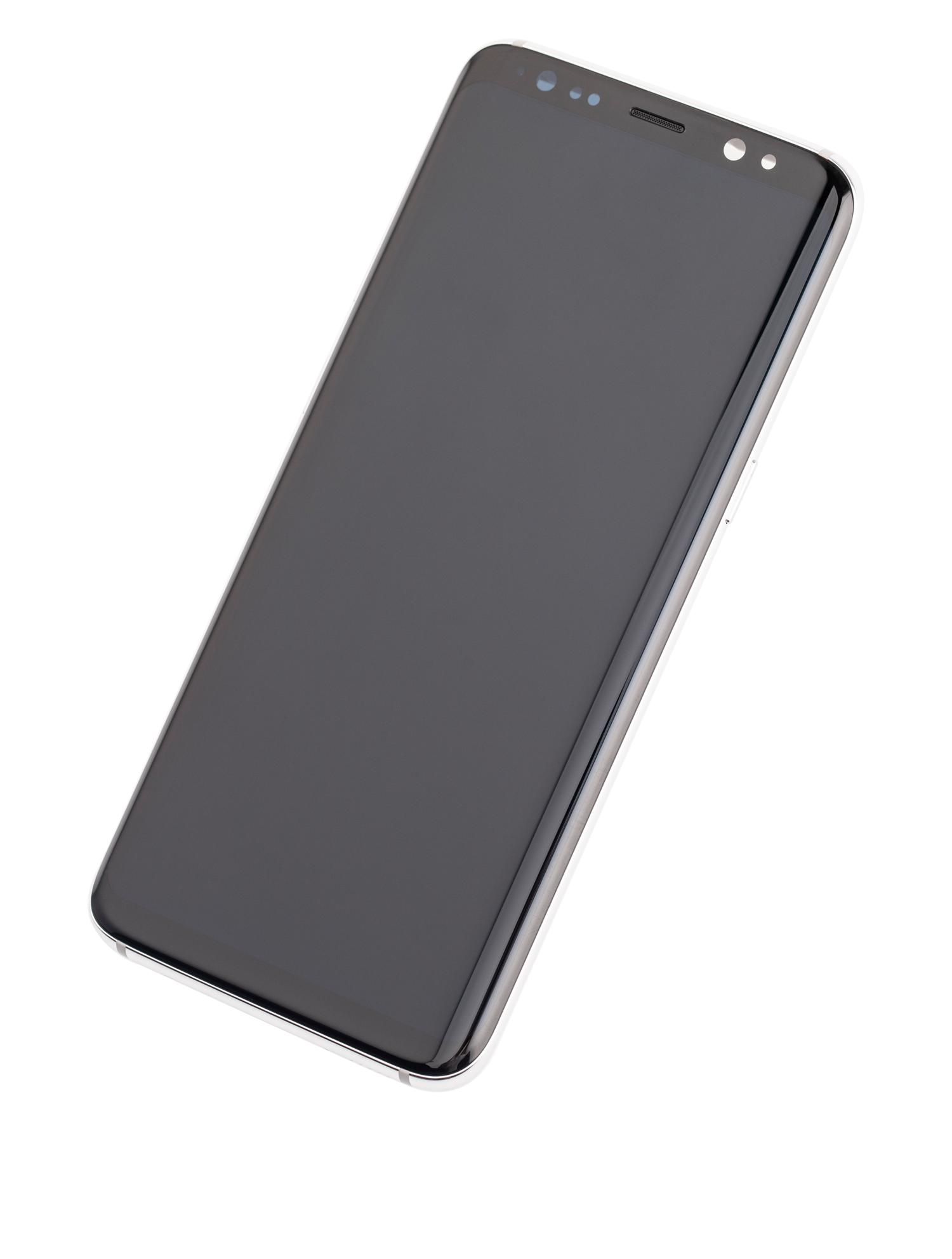 Samsung Galaxy S8 SM-G950 Display Module + Frame Silver