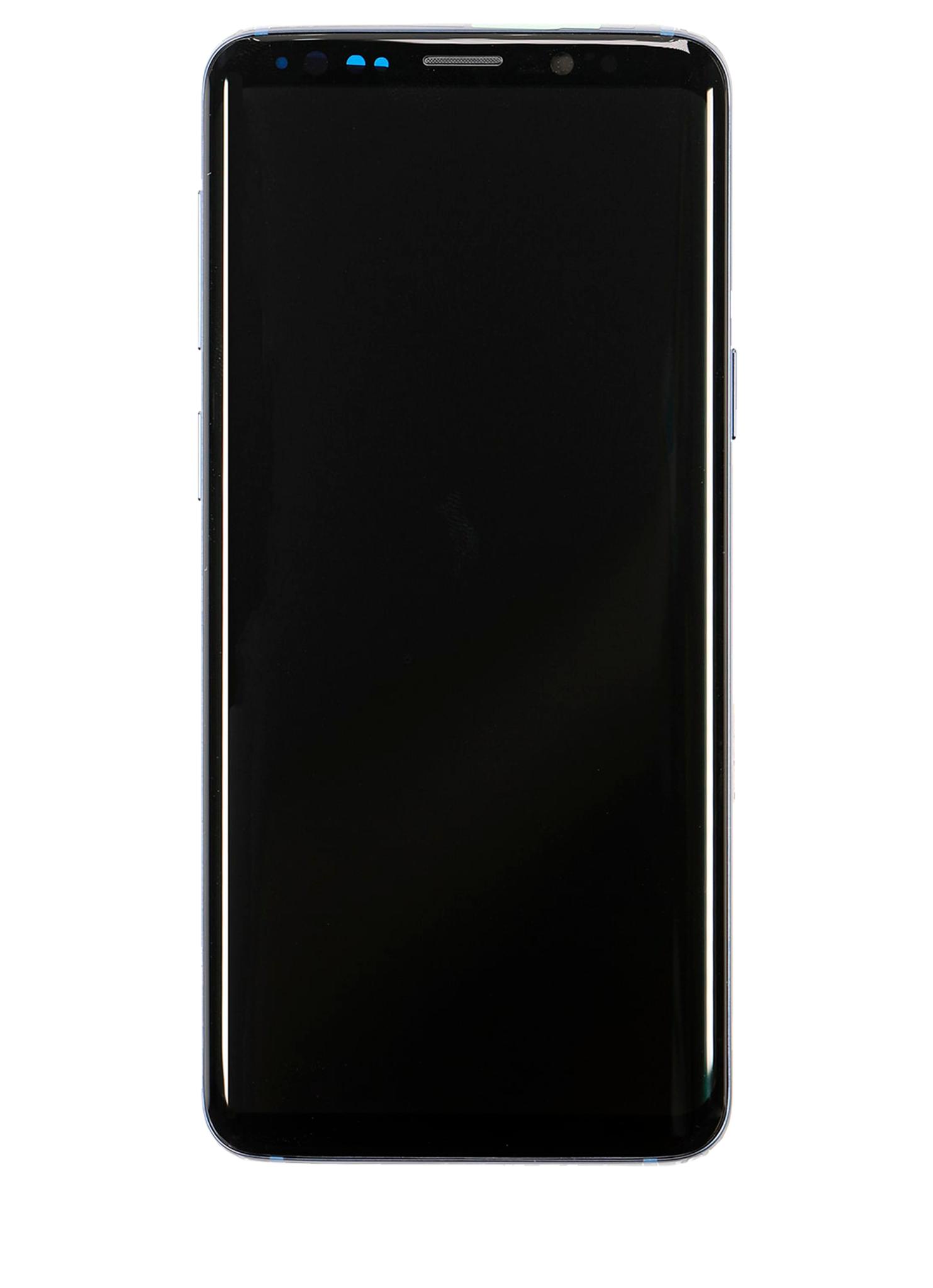 Samsung Galaxy S9 SM-G960 Display Module + Frame Blue