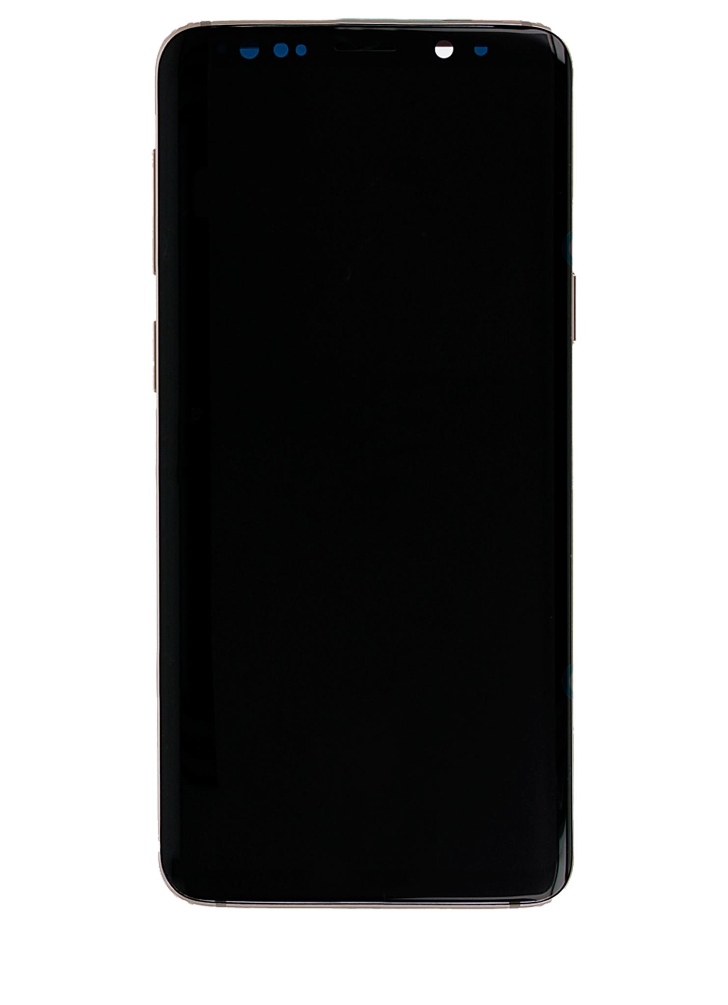 Samsung Galaxy S9 Plus SM-G965 Display Module + Frame Gold