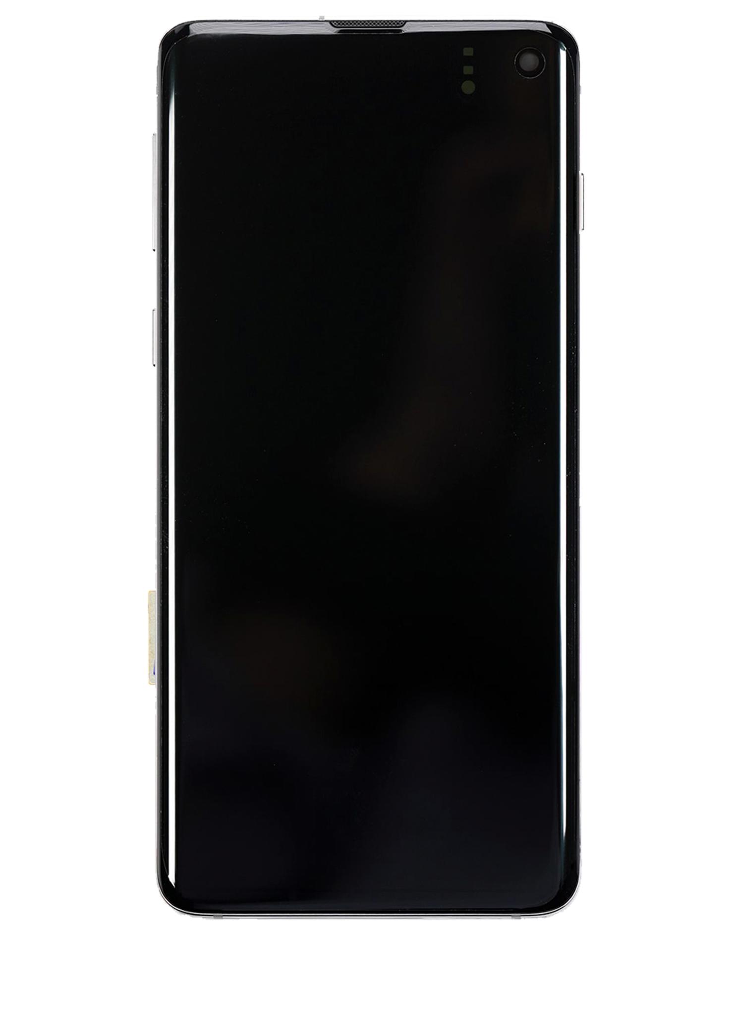 Samsung Galaxy S10 SM-G973 Display Module + Frame Green