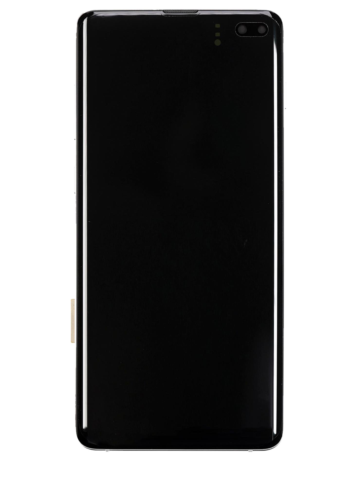 Samsung Galaxy S10 Plus SM-G975 Display Module + Frame Silver