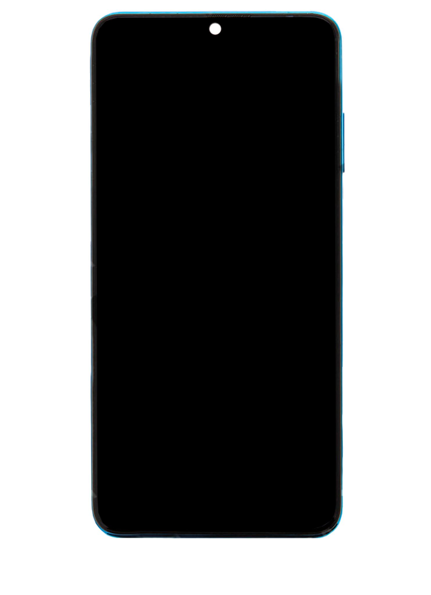 Huawei P30 Lite New Edition MAR-LX1B Display Module + Frame Blue