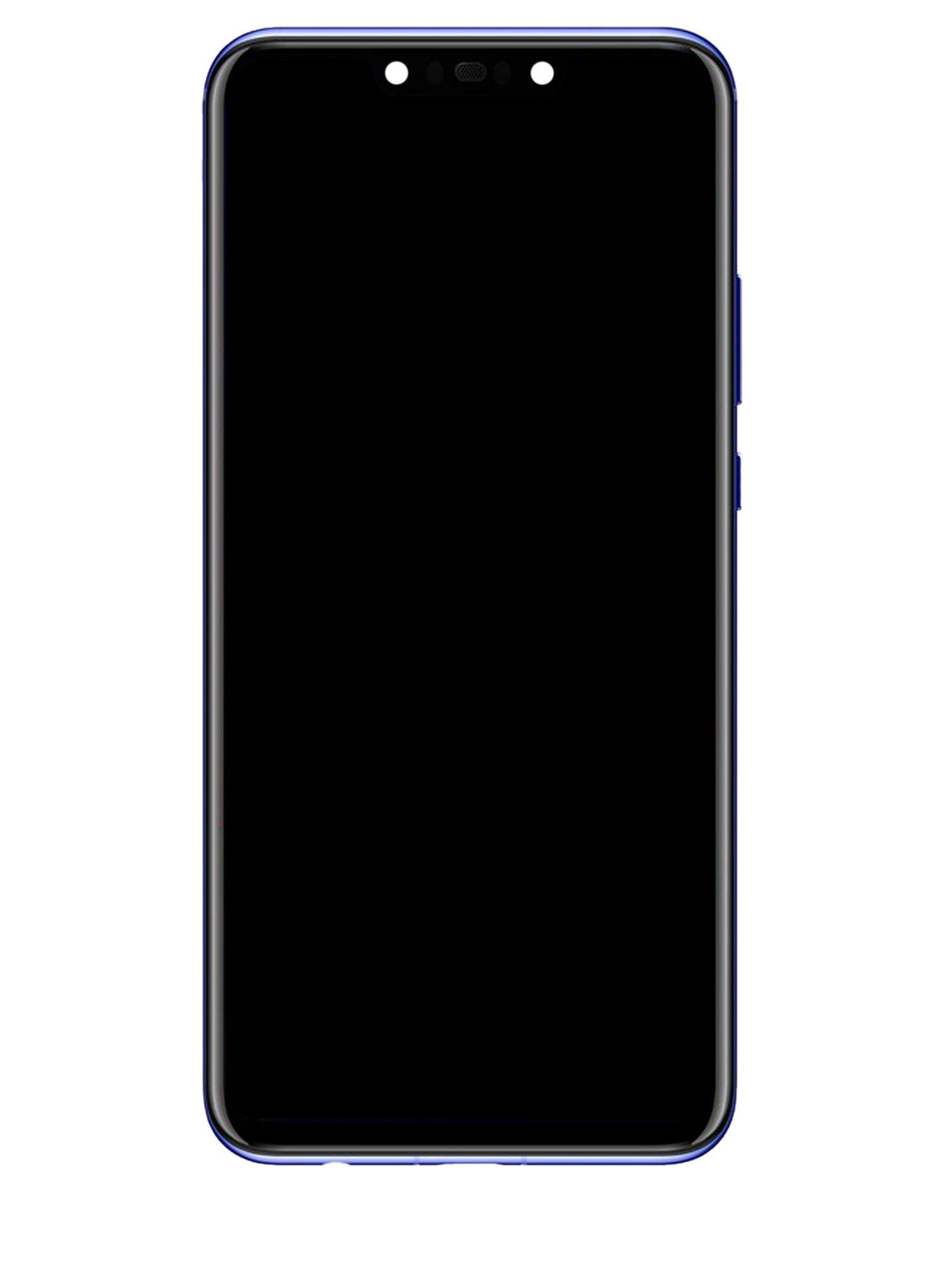 Huawei Nova 3 PAR-LX1 Display Module + Frame Blue