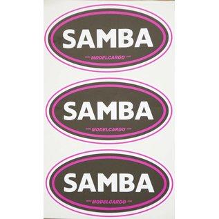 Samba Samba decal set (3 sheets)