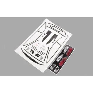 Mielke Modelltechnik Audi RS5 DTM 2013 basis stickerset 2-delig