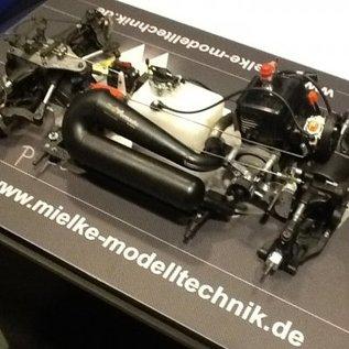 Mielke Modelltechnik Big Tornado Schalldampfer für FG 4 WD Glattbahn Modelle