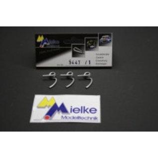Mielke Modelltechnik 2,4mm Koppelingsveren (3 stuks)