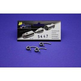 Mielke Modelltechnik 2,3mm Koppelingsveren (3 stuks)