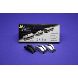 Mielke Modelltechnik Mixed Clutch shoes (2 x Alu / 1 x Carbon) Set