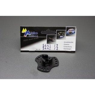 Mielke Modelltechnik Instelplaat tbv koppeling 5441 & 5442