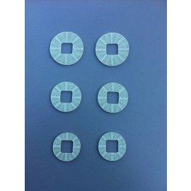 SCS M2 Diff-shims for SCS Powerlock diff