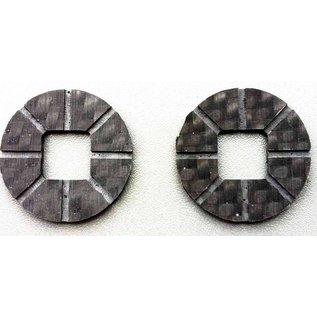 SCS M2 Diff-Shim Carbon Standaard (32mm)