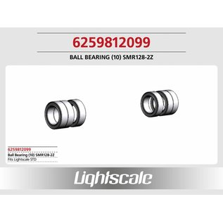 Lightscale Kugellager (10)  SMR128-2Z f. STD