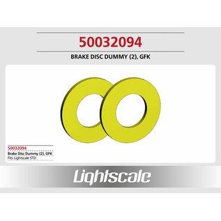 Lightscale Bremsscheibe Dummy GFK (2) f. STD