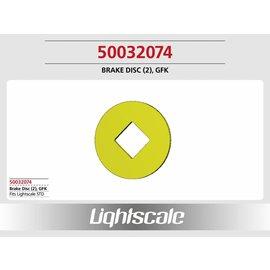 Lightscale Bremsscheibe GFK, groß