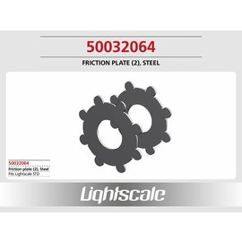 Lightscale Friction plate, Steel