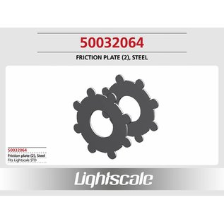 Lightscale Friction plate (2), Steel