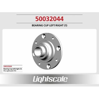 Lightscale Lagerschale Alu L/R (1) f. STD