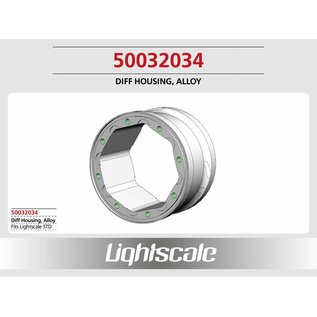 Lightscale Diff Housing, Alloy