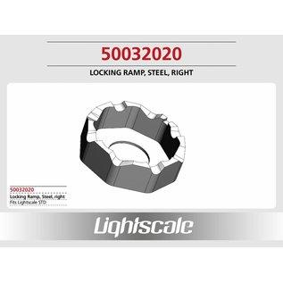 Lightscale Differentieelkooi rechts, staal gehard