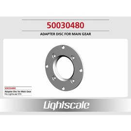 Lightscale Adapter Disc for Main Gear