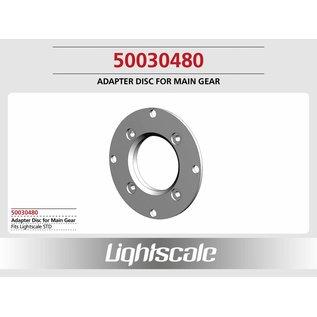 Lightscale Adapterscheibe, Alu, für STD