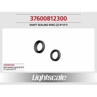 Lightscale Shaft sealing ring (2) 8*12*3