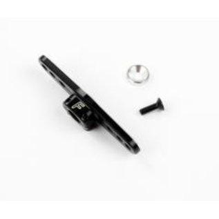 Robitronic Aluminium Servo Arm 25 T. double (light) Zwart