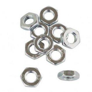 HARM Racing Hexagon nut M8, right thread 10 pcs
