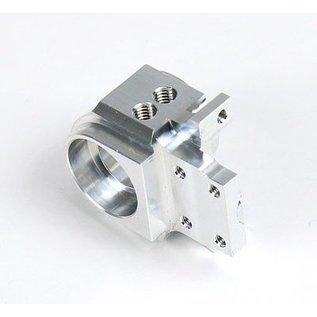 HARM Racing Aluminium fusee voor offset 0+5mm / caster 6mm, rechts