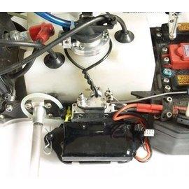 HARM Racing CFK-Akkuhalter seitlich SX-3 010 - 013, SX-4