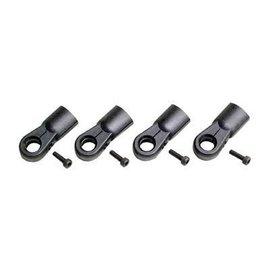 HARM Racing Kogelkoppen 10mm / M6 zwart