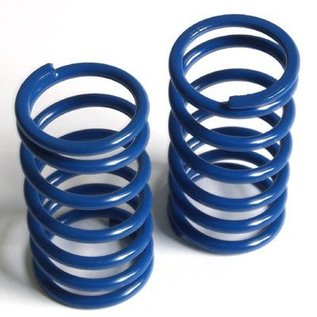 HARM Racing Spring long (rear) Big Bore progressive, blue, very hard, 2 pcs.