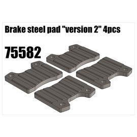 """RS5 Modelsport Brake steel pad """"version 2"""""""
