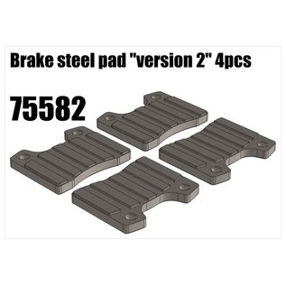 "RS5 Modelsport Brake steel pad ""version 2"" 4pcs"