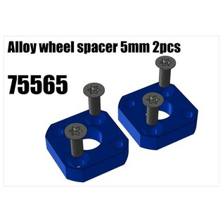 RS5 Modelsport Alloy wheel spacer 5mm 2pcs