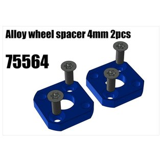 RS5 Modelsport Alloy wheel spacer 4mm 2pcs