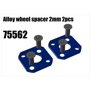RS5 Modelsport Alloy wheel spacer 2mm 2pcs