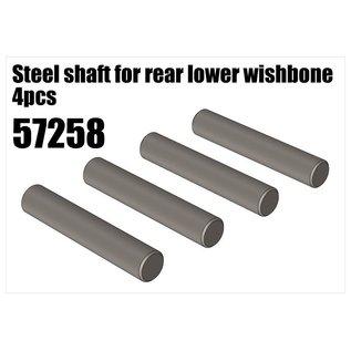 RS5 Modelsport Steel shaft for rear lower wishbone 4pcs