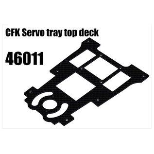 RS5 Modelsport CFK Servo tray top deck (F1 car part)