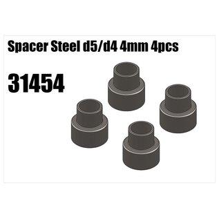 RS5 Modelsport Steel d5/d4 spacer 4mm 4pcs