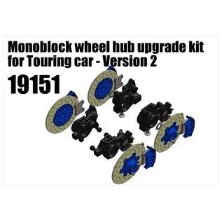 RS5 Modelsport Monoblock wheel hub upgrade kit for Touring car - Version 2