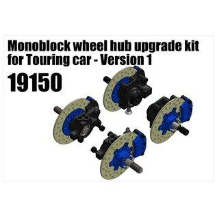 RS5 Modelsport Monoblock wheel hub upgrade kit for Touring car - Version 1