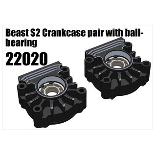 RS5 Modelsport Beast Crankcase pair with ball-bearing